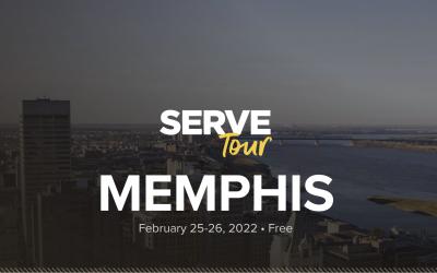 Serve Tour Memphis, February 25-26